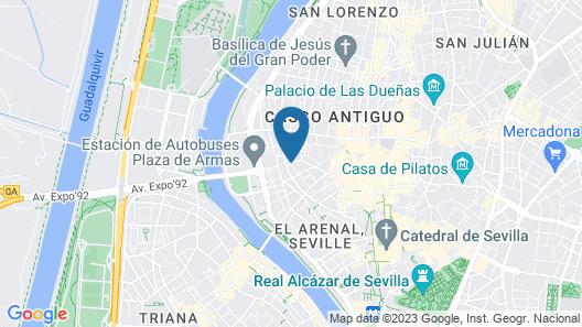 Hotel Madrid Sevilla Map