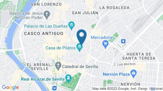 Hotel Hospes Las Casas del Rey de Baeza Map