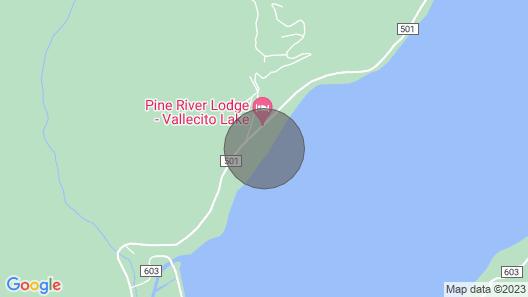 Lakefront Cabin! Deer-trail 2lake's Shores! Canoe, Kayak & Fishing Equip! Pet :) Map