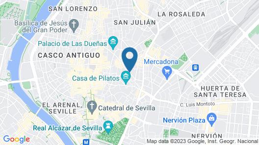 Hotel Palacio de Villapanes Map