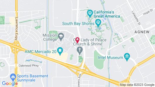 Avatar Hotel, a Joie de Vivre Hotel Map