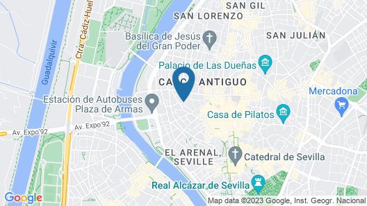 Acanthus Suites Map