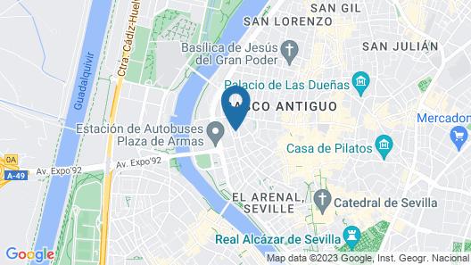 The Zentral Plaza de Armas Map