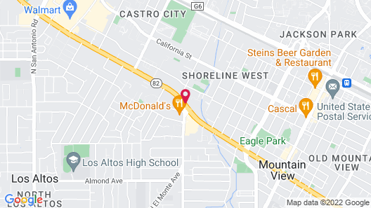 Residence Inn by Marriott Palo Alto Mountain View Map