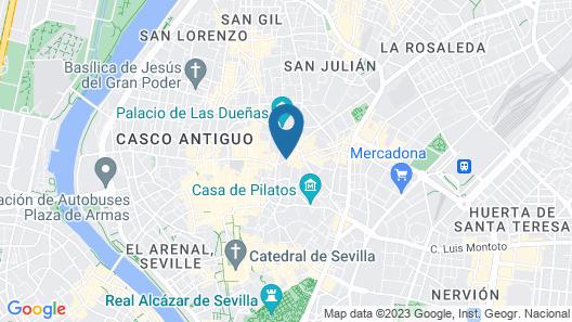 Hotel Posada del Lucero Map