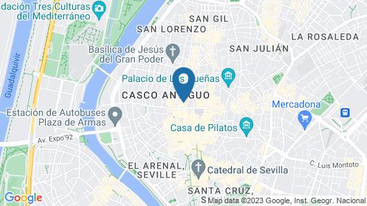 Pension Nuevo Pino Map