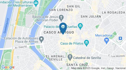 Hotel Derby Sevilla Map