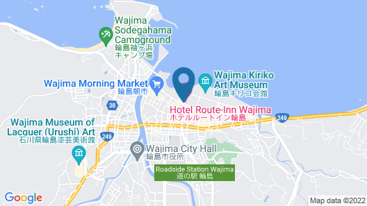 Hotel Route-Inn Wajima Map
