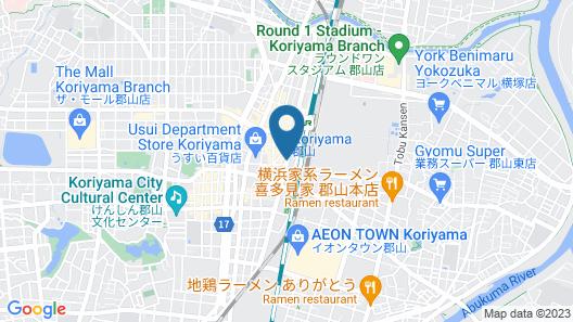 APA Hotel Koriyama-Ekimae Map