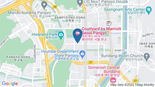 Residence Pangyo Map