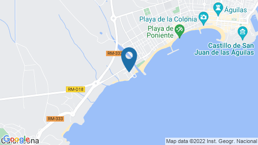 Bea Beach Hostel Map