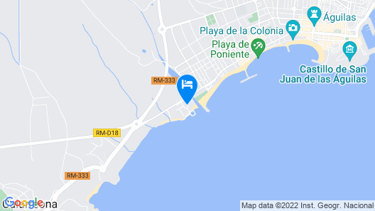 Hotel Puerto Juan Montiel & Spa & Base Náutica Map