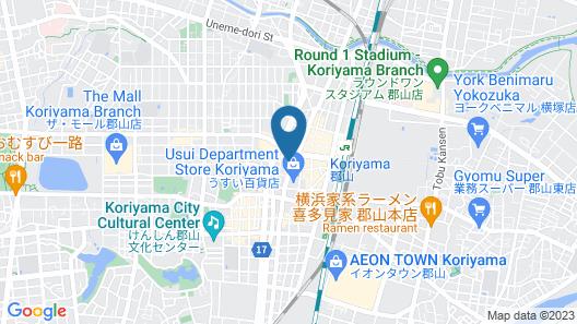 Koriyama View Hotel Annex Map