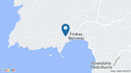Plagia Villas Map