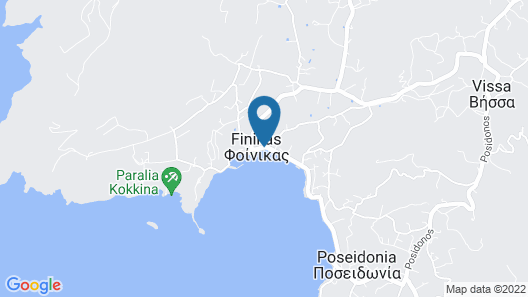 Syros Wellness Luxury Suites Map