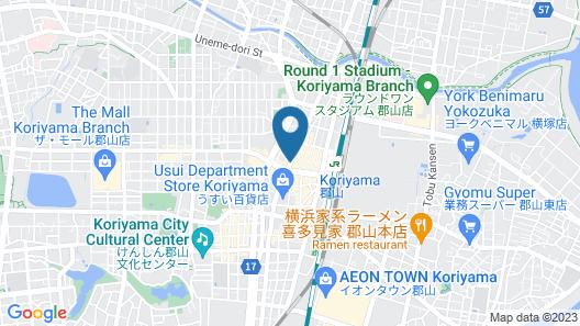 Koriyama Washington Hotel Map