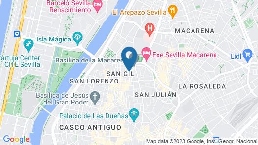 Hotel San Gil Map
