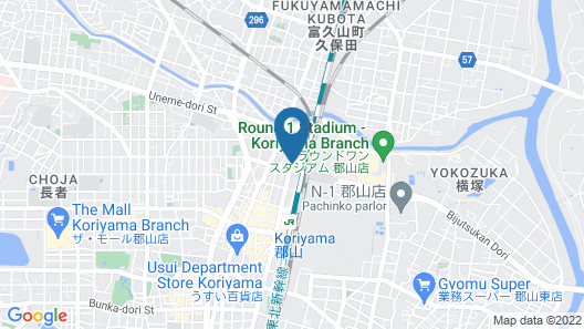 Dormy Inn Express Koriyama Natural Hot Spring Map
