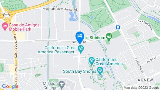Hilton Santa Clara Map