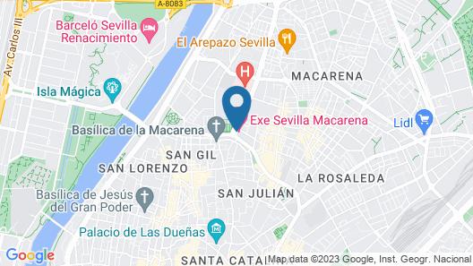 Exe Sevilla Macarena Map