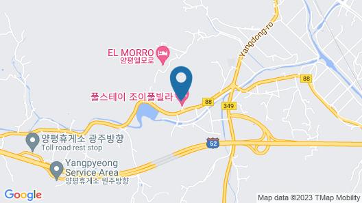 PoolVilla The Secret - Yangpyeong Map