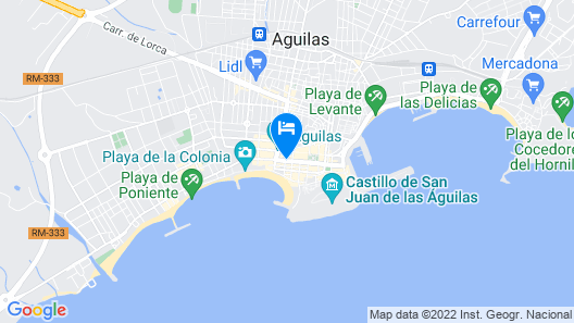 Hotel Carlos III Map