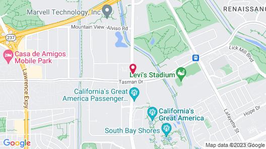 Hyatt Regency Santa Clara Map