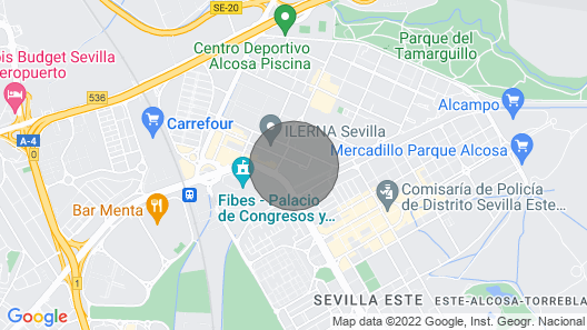 Seville Vacation Apartment With Private Garage. Internet Wi-fi and Pool Map