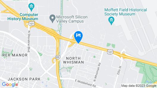 Ramada by Wyndham Mountain View Map