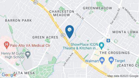 Dinah's Garden Hotel Map