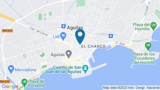 Pensión Ramonetero Map