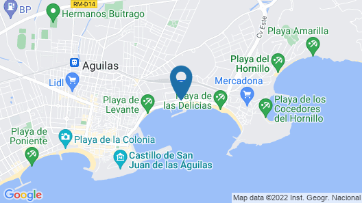 Club Nautico Aguilas - Hostel Map