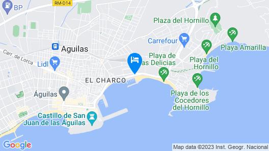 Club Nautico Aguilas - Hostel Map
