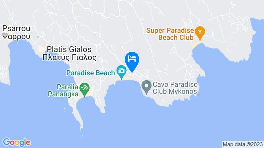 Tropicana Hotel Map