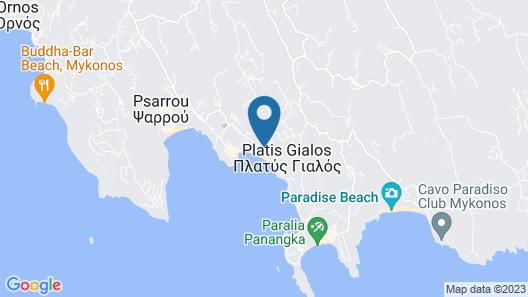 Branco Mykonos Map