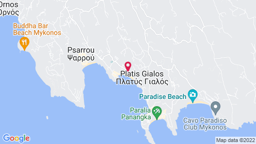 Palladium Hotel Map