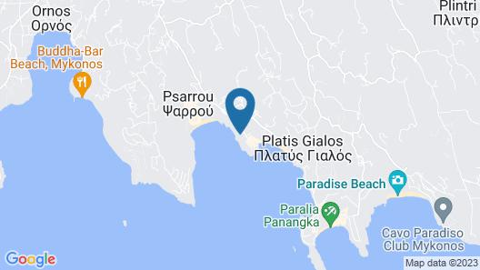 Nissaki Boutique Hotel Map