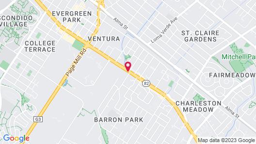 Creekside Inn Map