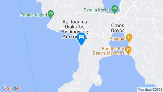Saint John Hotel Villas & Spa Map