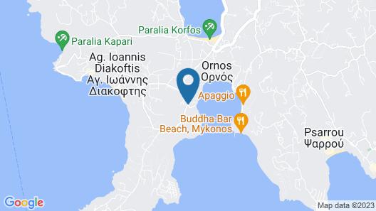 Kivotos Mykonos Map