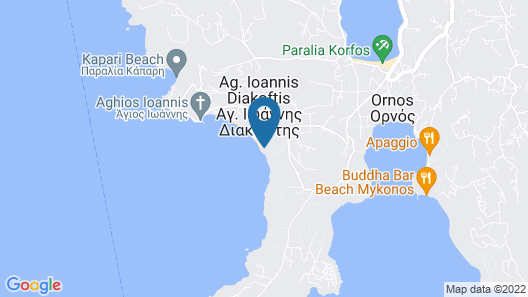 Mykonos Grand Hotel & Resort Map
