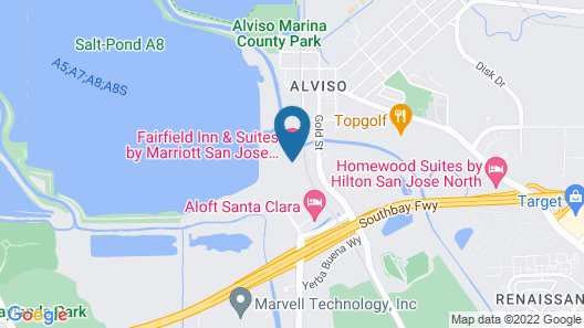 Fairfield Inn & Suites by Marriott San Jose North/Silicon Valley Map