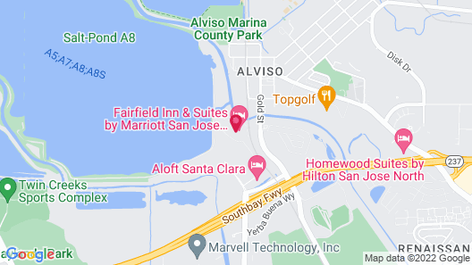 Residence Inn by Marriott San Jose North/Silicon Valley Map