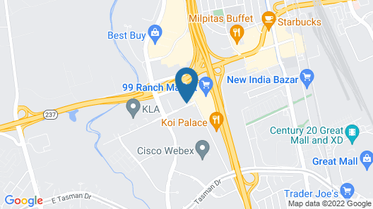 Sonesta San Jose Map