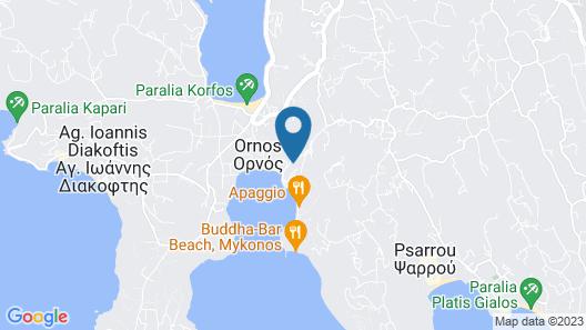 Deliades Hotel Map