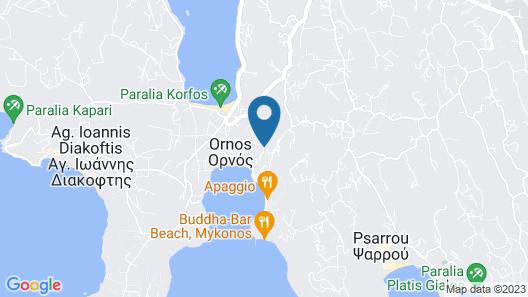 Kensho Ornos Map