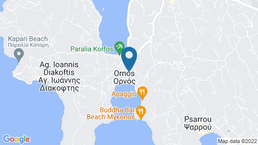 Anemos Studios & Apartments Map