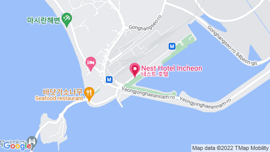 Nest Hotel Incheon Map