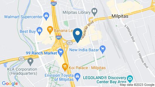 Days Inn by Wyndham San Jose Airport Map