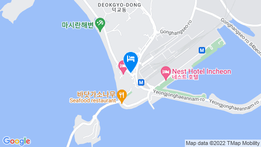 Hotel Parkwood Incheon Airport Map